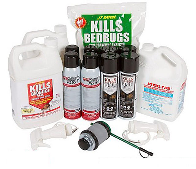 Bed bugs repellent. Pyrethroids and pyrethrins